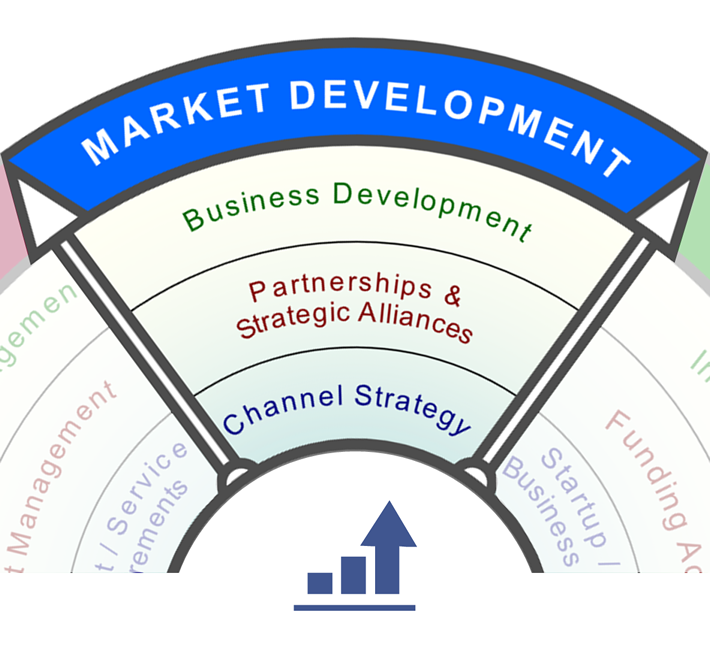 Market Development Services: Channel strategy, partnerships and business development